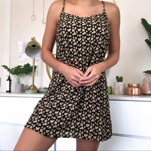 Sunflower mini sun dress